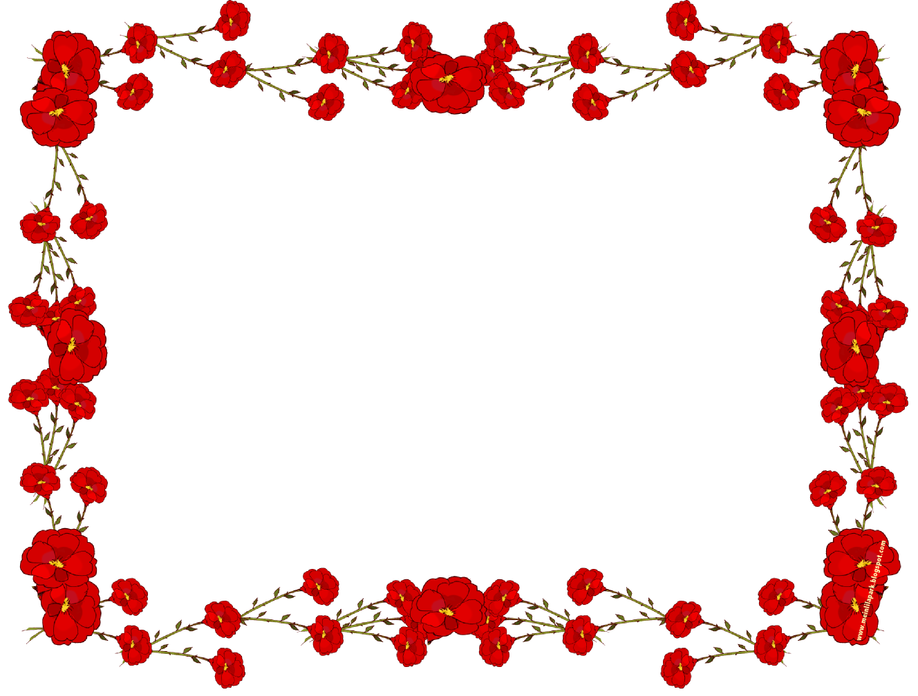 Flower Png Frame - ClipArt Best