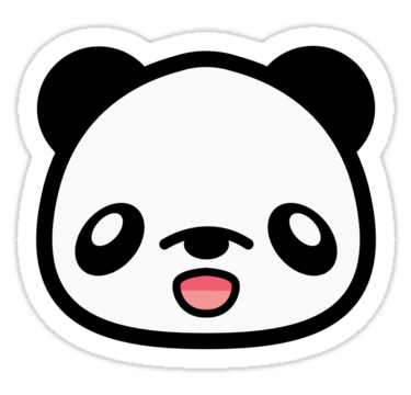 Panda Face Clip Art