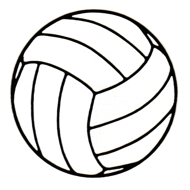 Drawing Of A Volleyball Wwwimgarcadecom Online Image Arcade