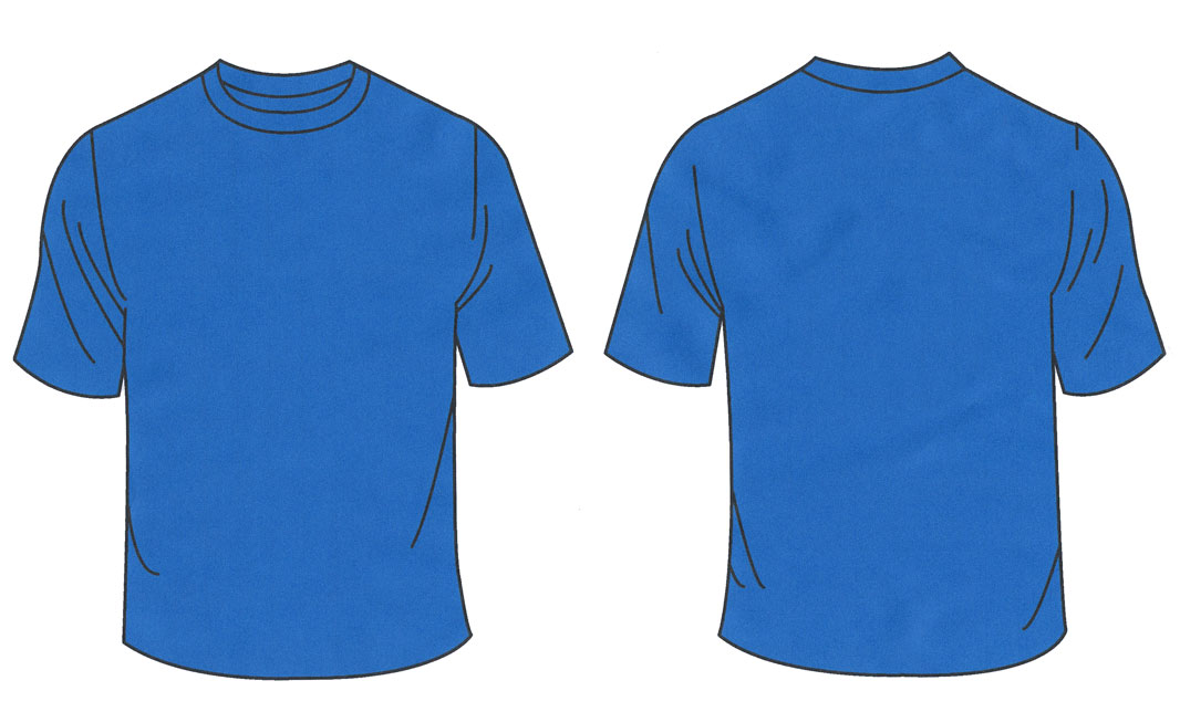 blank navy blue t shirt template clipart best ForBlue T Shirt Template