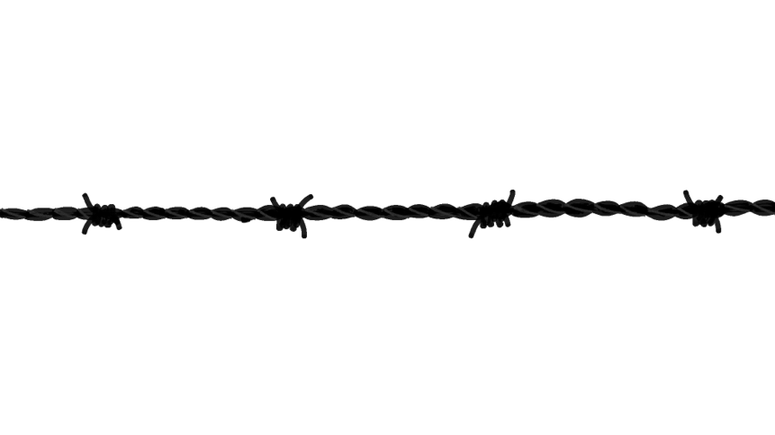 barbed wire drawing - photo #3