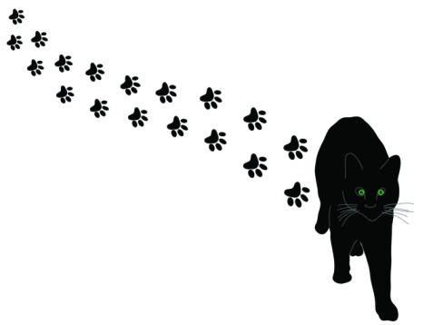 Cat Paw Prints Clipart Best