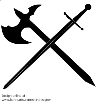 Template Of A Sword - ClipArt Best