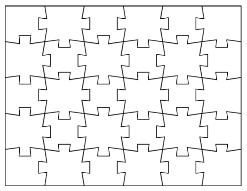 Jigsaw Puzzle Template Jigsaw Puzzle Template For