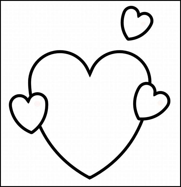 clip art heart template - photo #35