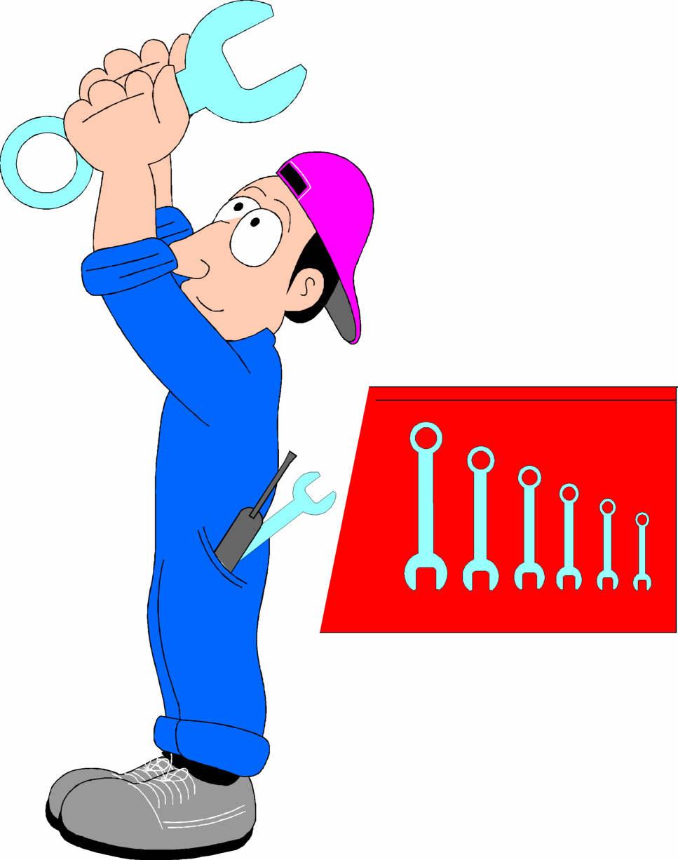 Auto Mechanic Clipart