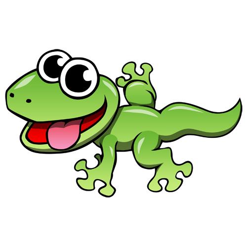 Cartoon Pics Of Geckos Clipart Best