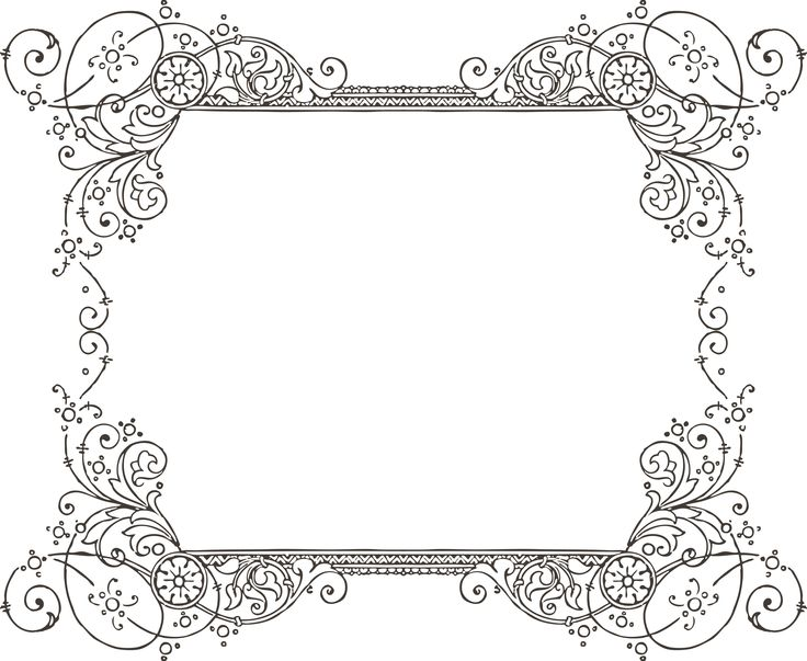 Free Printable Borders For Word Documents - ClipArt Best