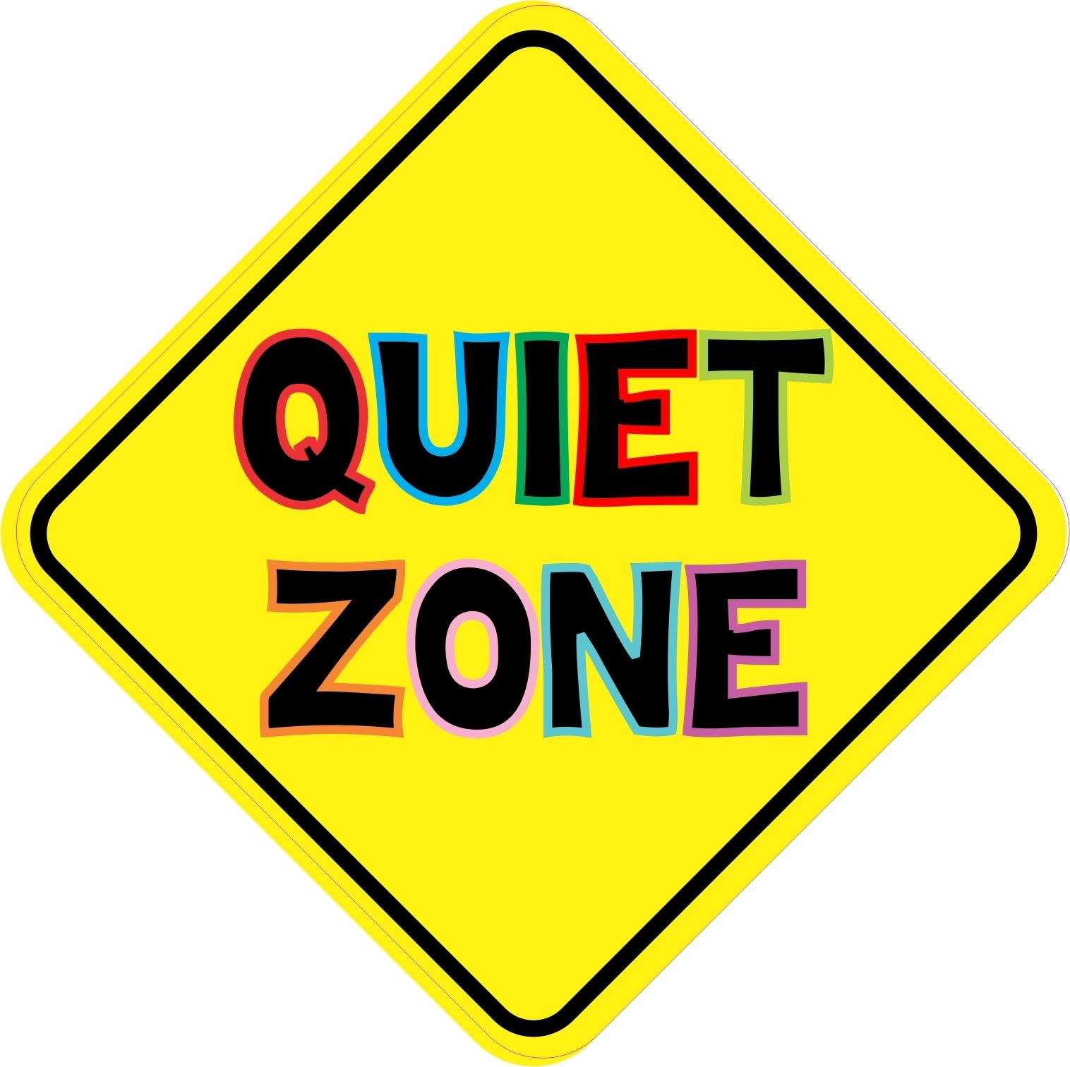 free clipart quiet zone - photo #2