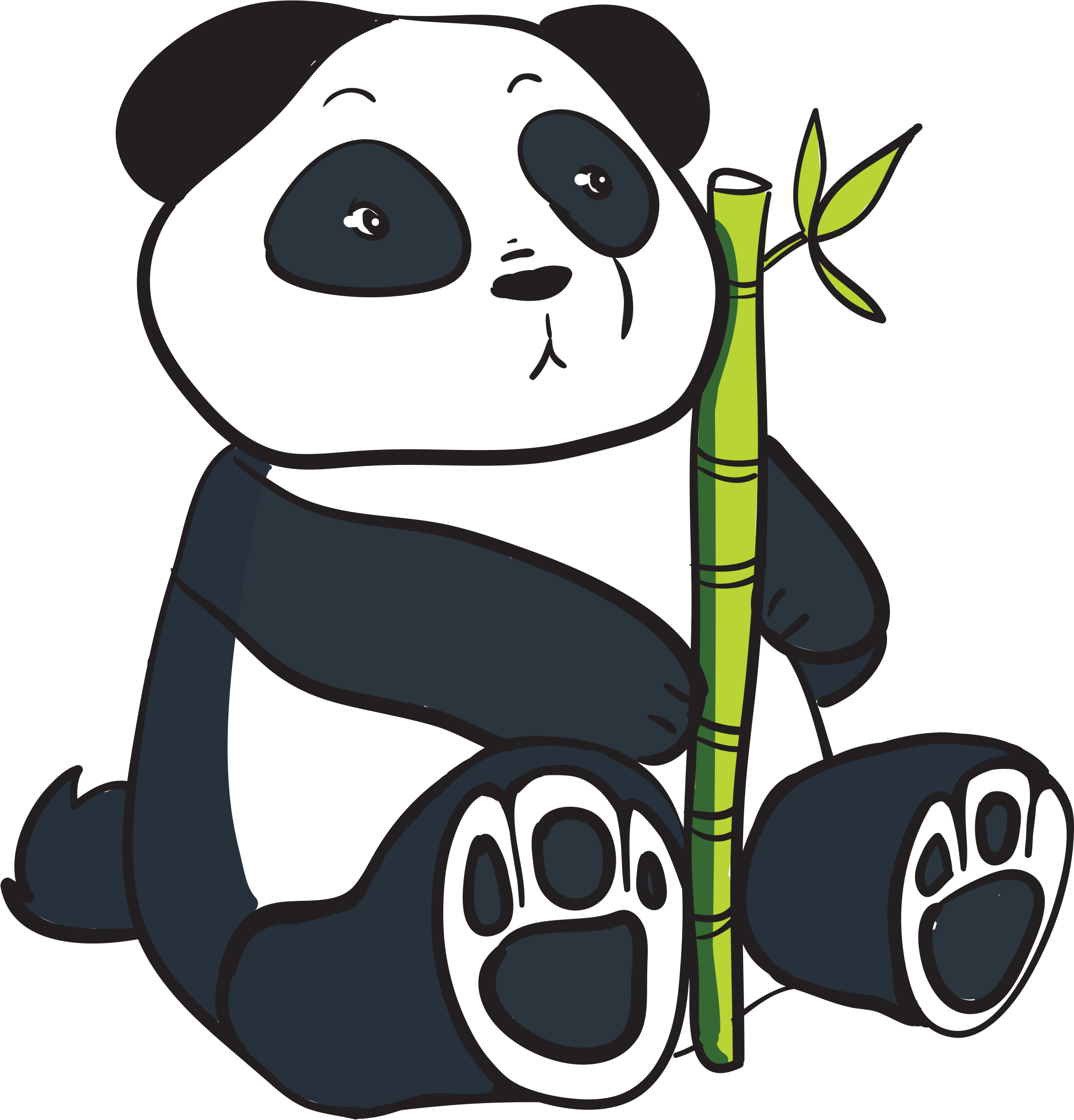 Cartoon Panda - ClipArt Best