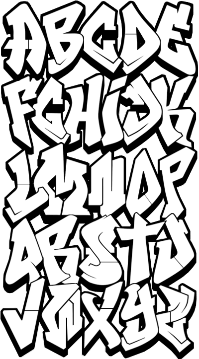 Grafitti | Graffiti Alphabet, Graffiti and Graffiti Font