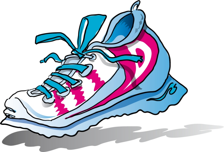 Running Shoe Clipart Images