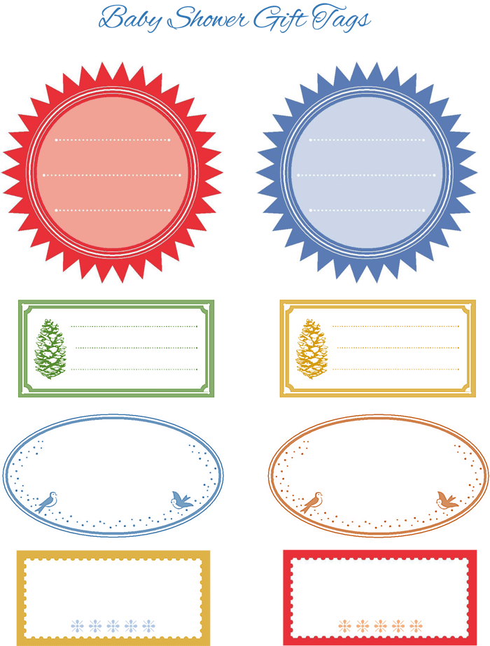 Gift Tag Word Template - ClipArt Best
