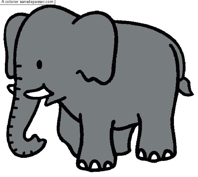 Dessin elephant clipart best - Dessin elephant rigolo ...