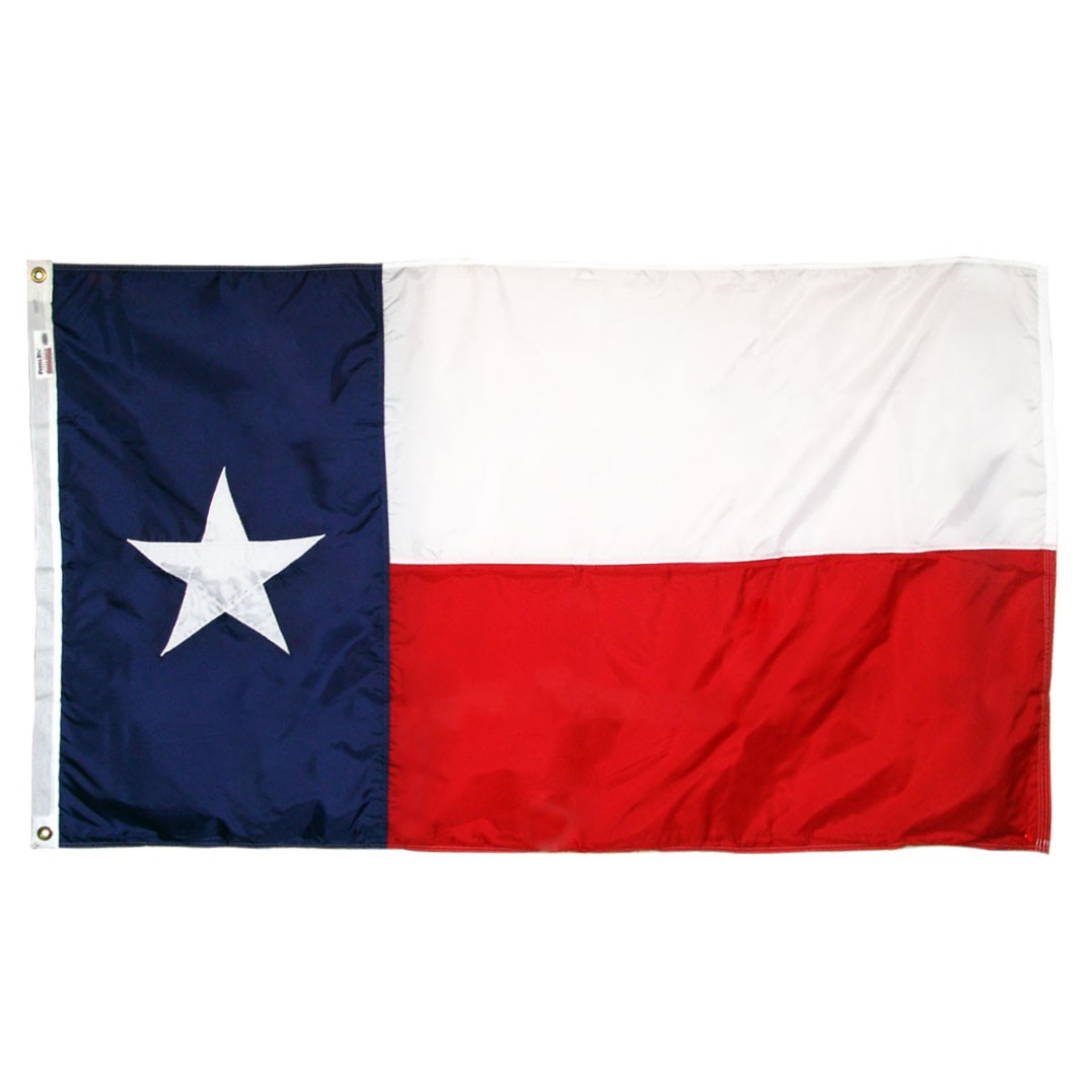 Texas Flag 3x5ft Nylon