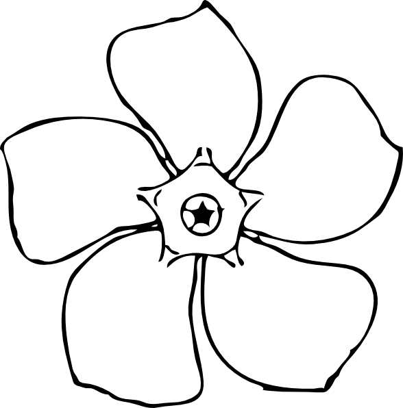 Line Art Using Photo : Flower drawing images clipart best