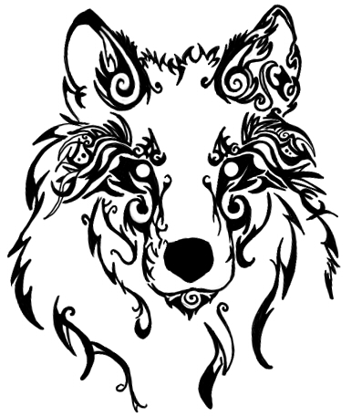 Howling Wolf Head Drawing How To Draw A