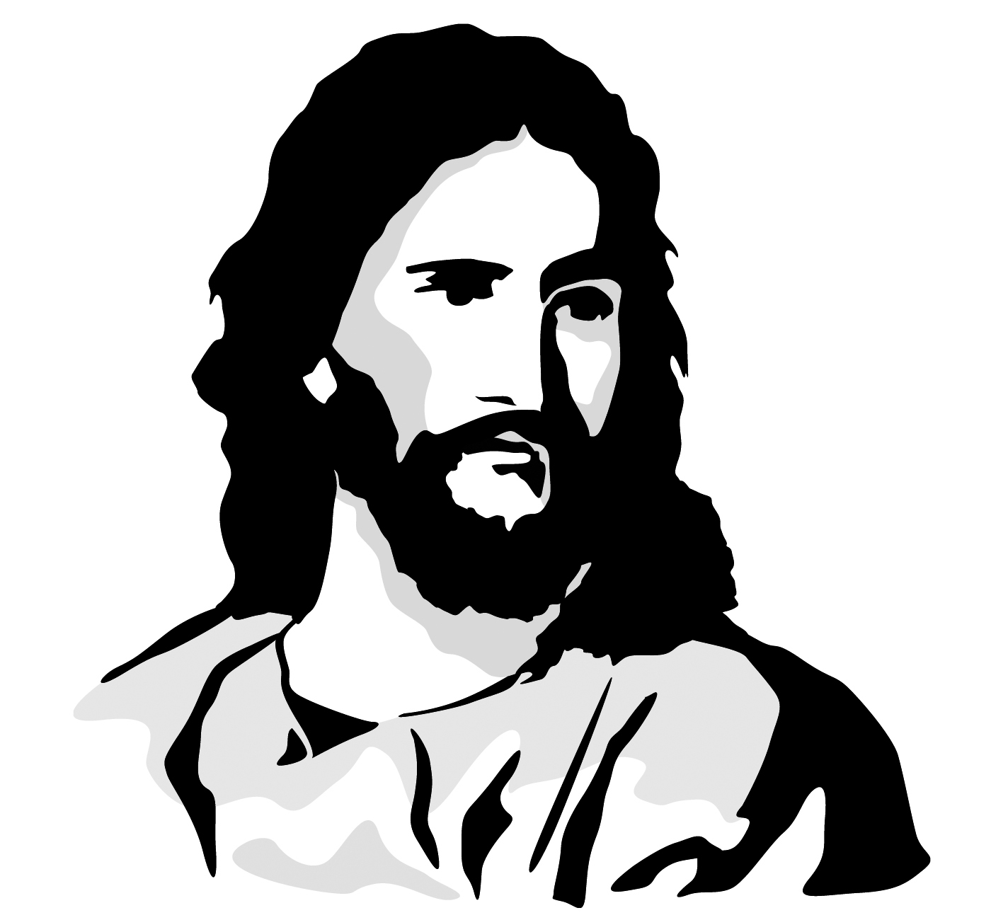 free clip art jesus carrying cross - photo #37