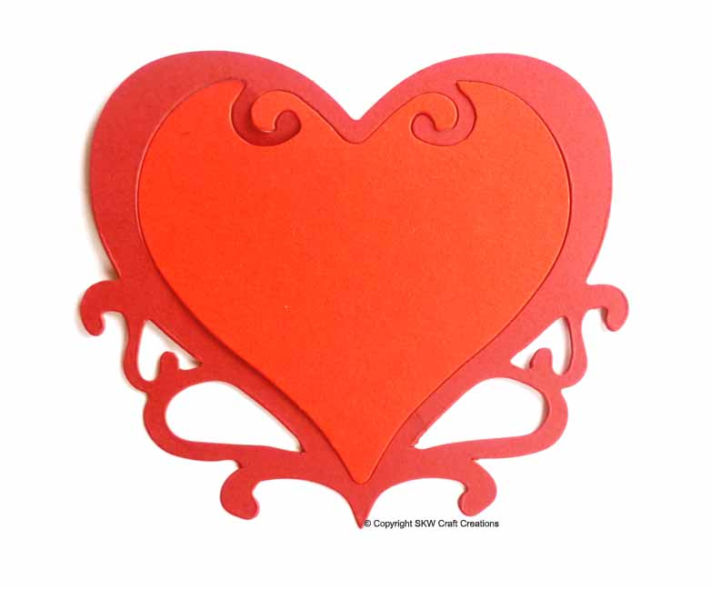 Sizzix Die-Cut Shapes - Large Heart, Ornate (6pk) - SKW Craft ...