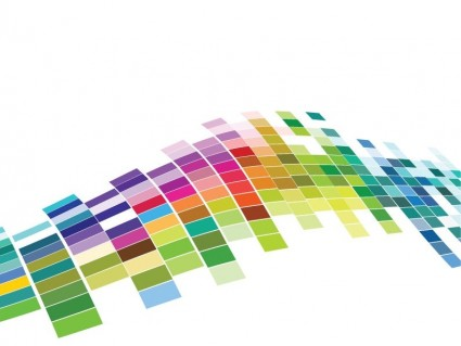 Free Vector Colorful Mosaic Pattern Background Free vector in ...