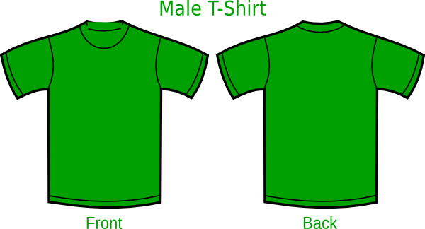 Green T Shirt Template Clipart Best