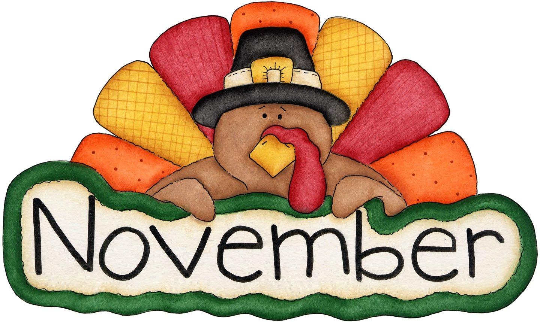 Thanksgiving Calendar Art : November clip art clipart best