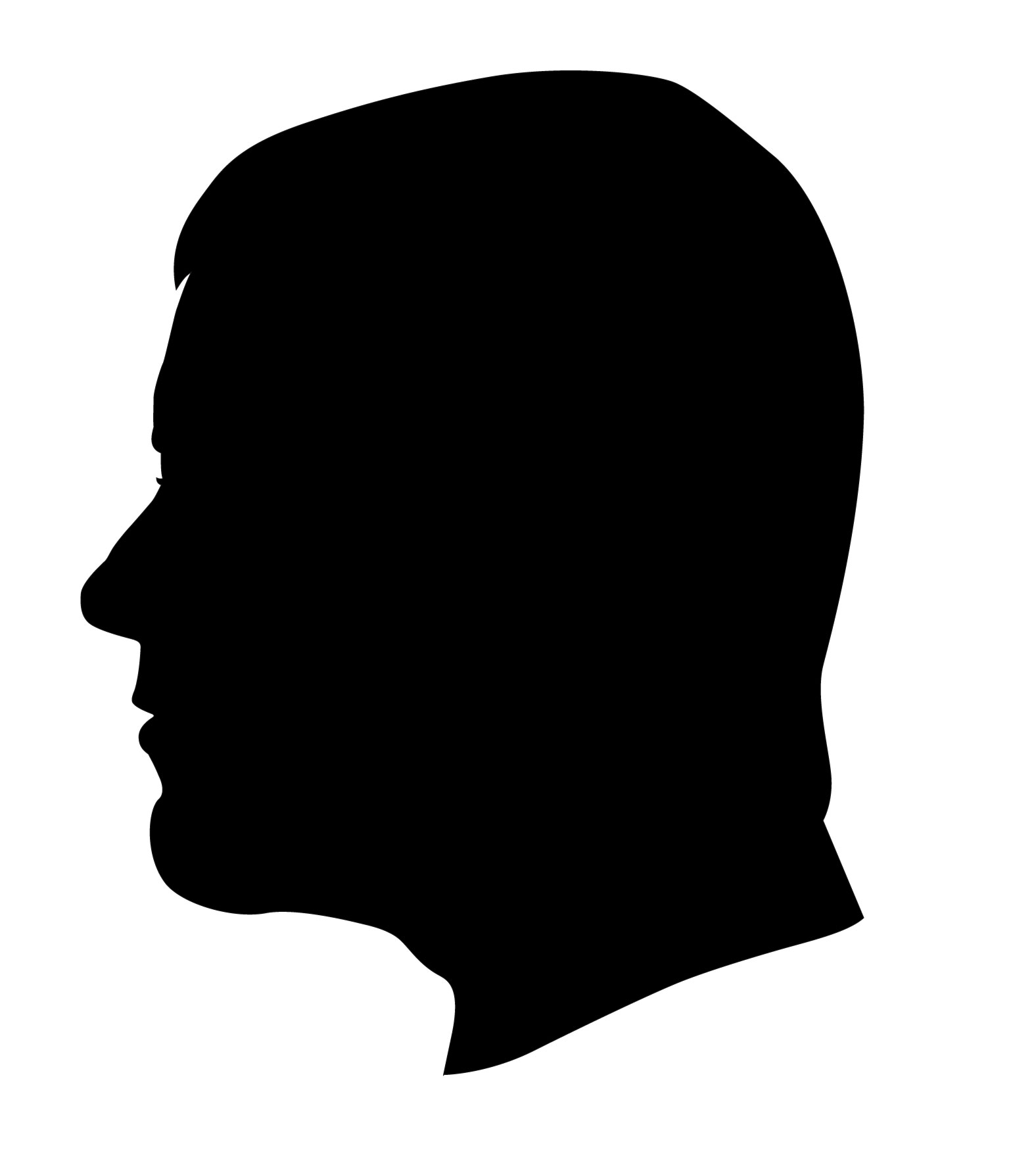 Woman Hair Blowing Illustrations, Royalty-Free Vector ...  Face Profile Silhouette Blowing