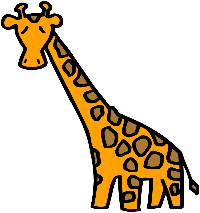 Animated Giraffe - ClipArt Best