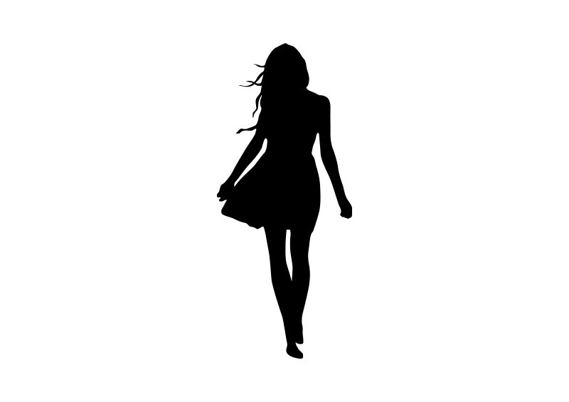 Woman Vector Silhouette - ClipArt Best