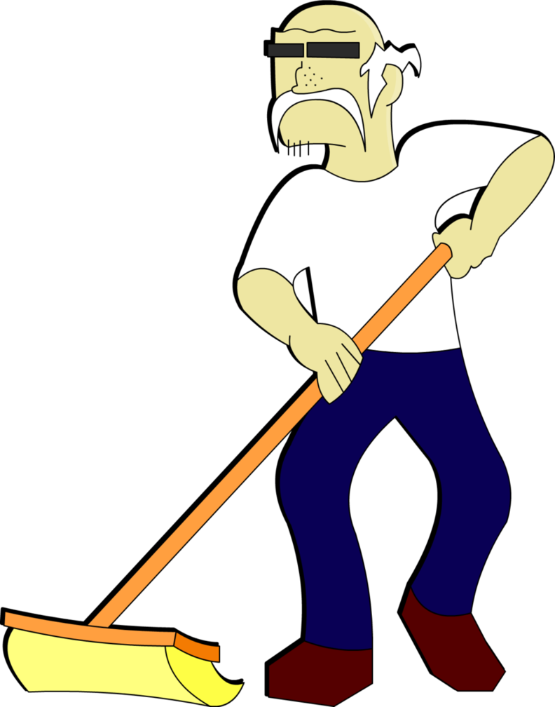 Janitor Clip Art - ClipArt Best