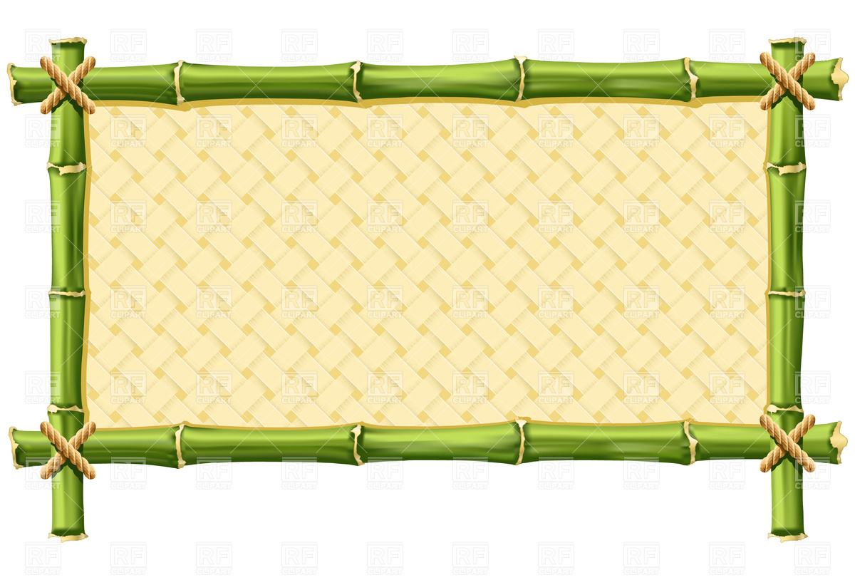 bamboo border free download clipart best