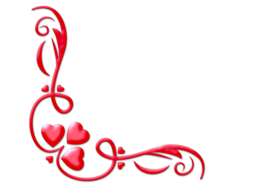 wallpapers valentine frames photoshop png designs corners