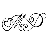 Heart Tattoo Designs With Letters