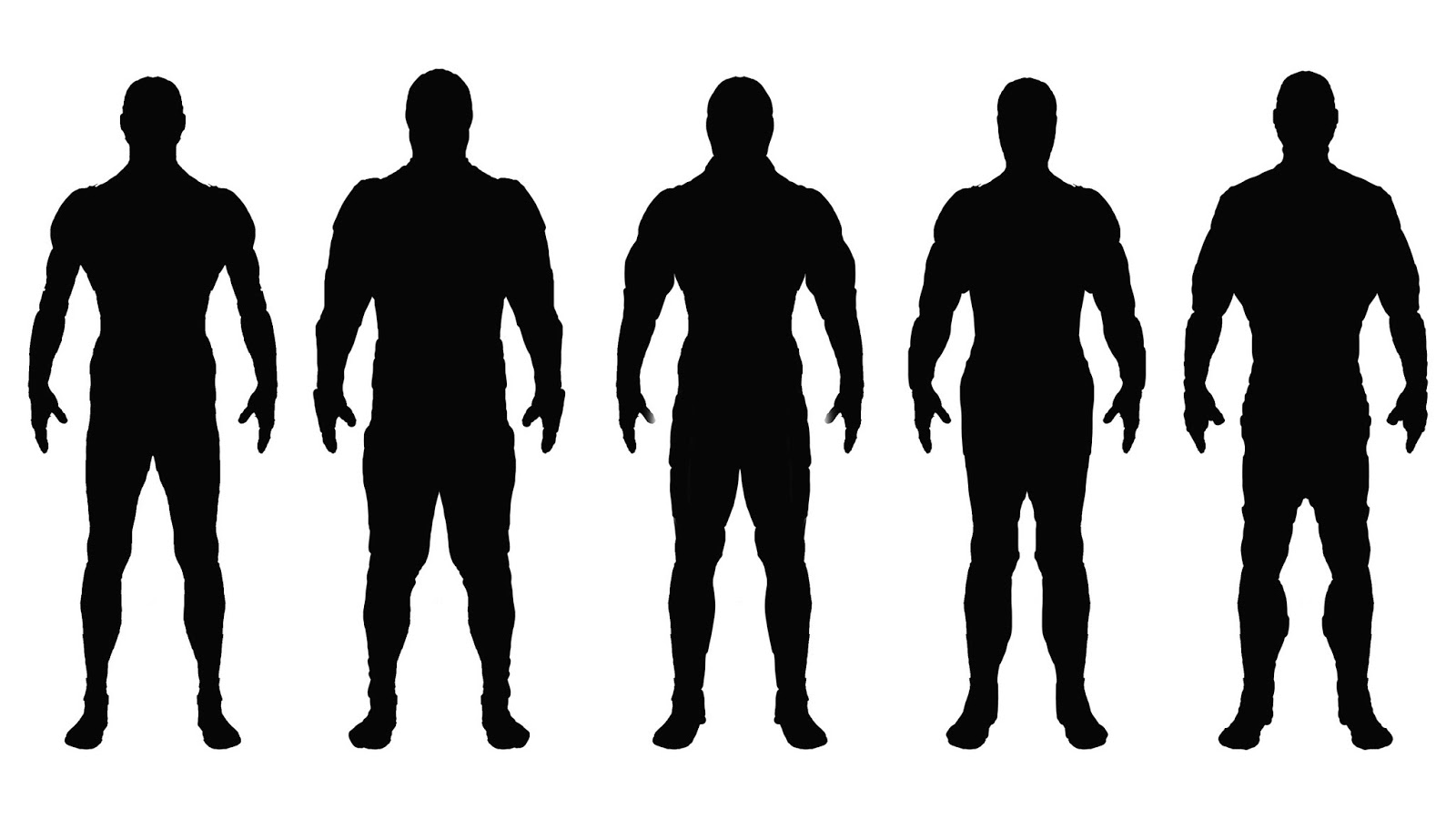 Outline Standing Human - ClipArt Best
