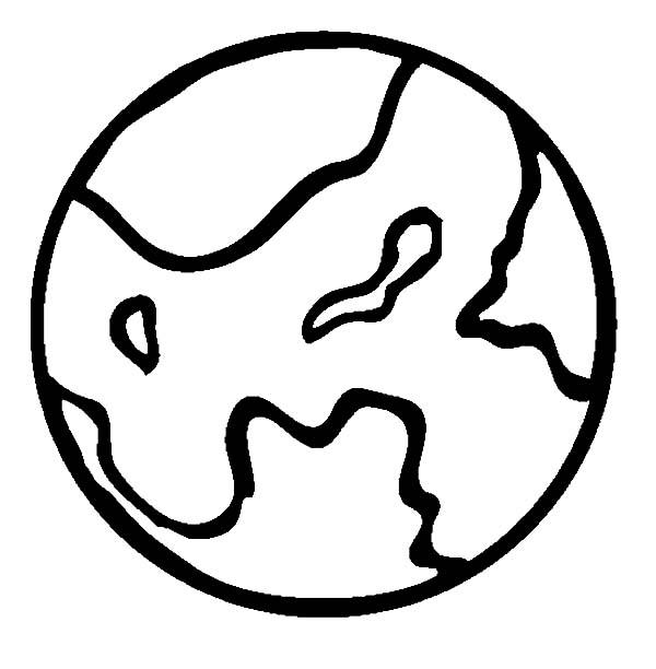 Planet Outline - ClipArt Best