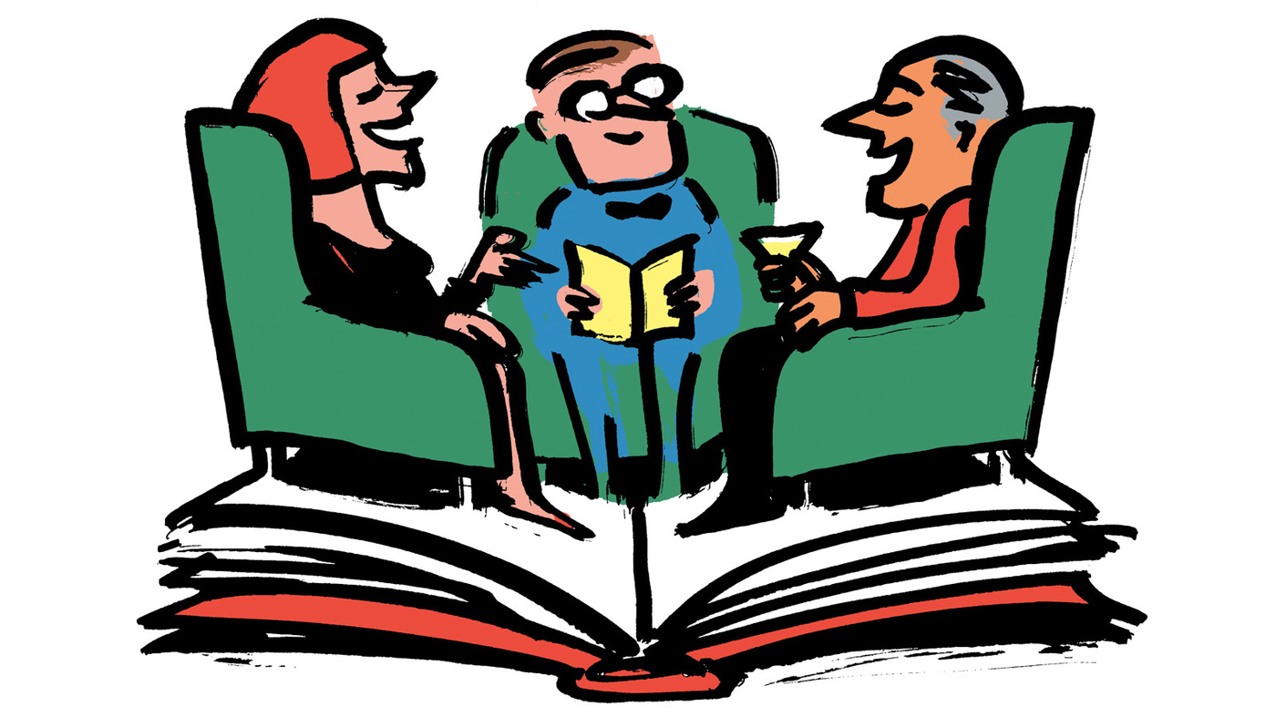 Book Club Clipart - ClipArt Best