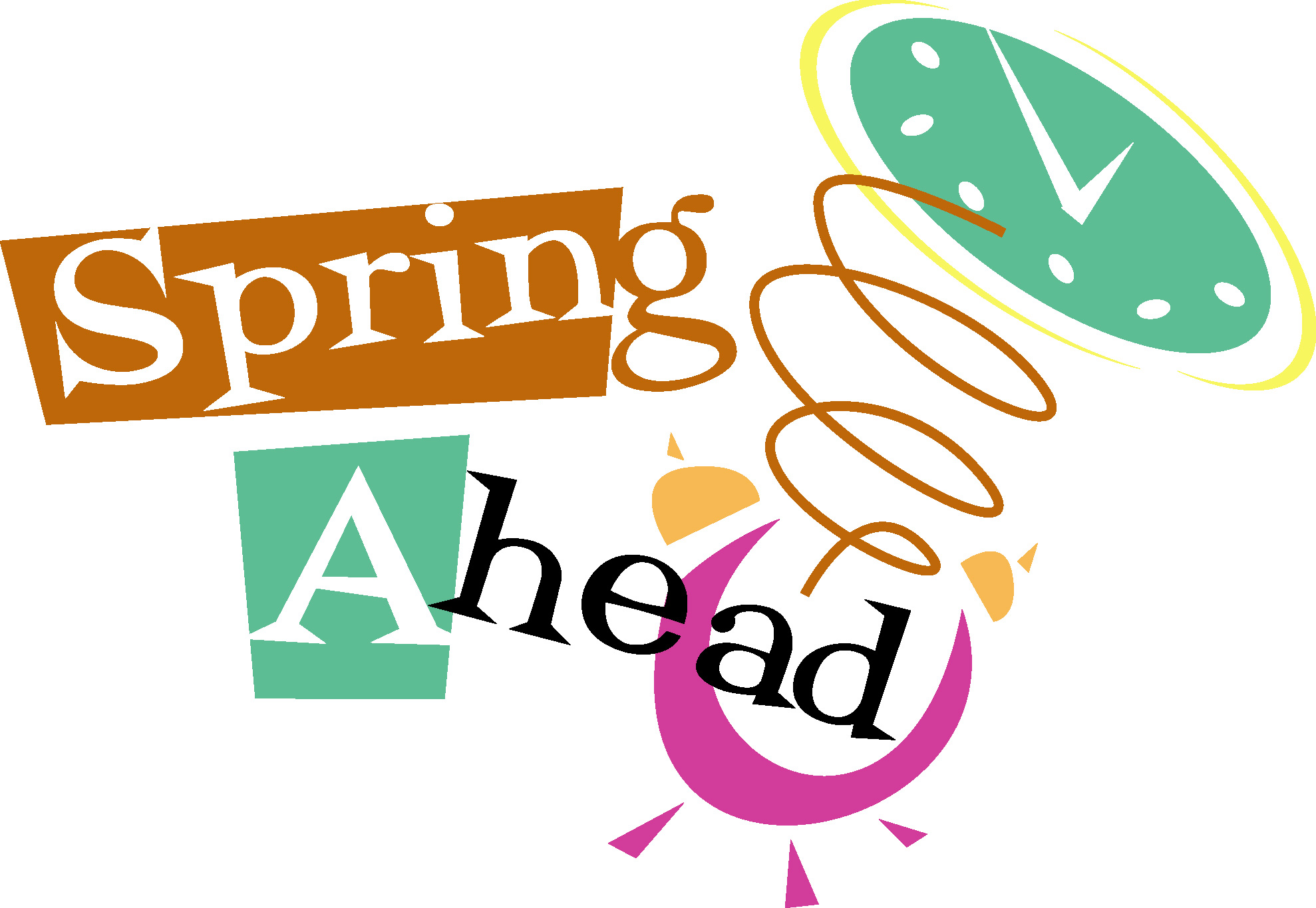 Spring Forward Clip Art - ClipArt Best