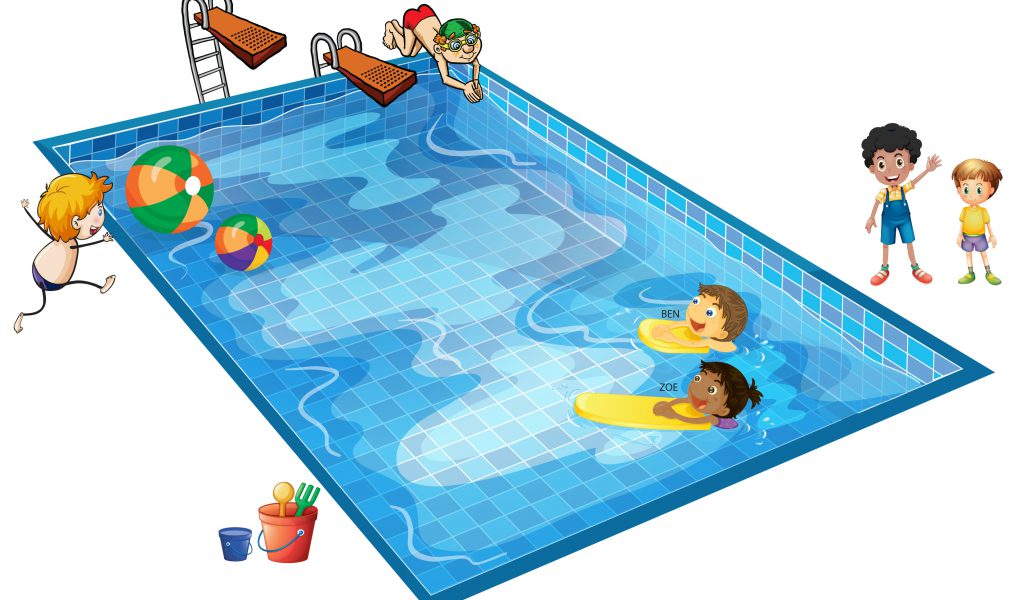 Pool clipart clipart best for Free clipart swimming pool party