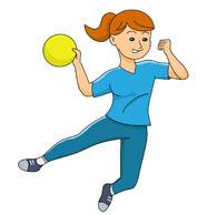 Handball Clipart Kostenlos