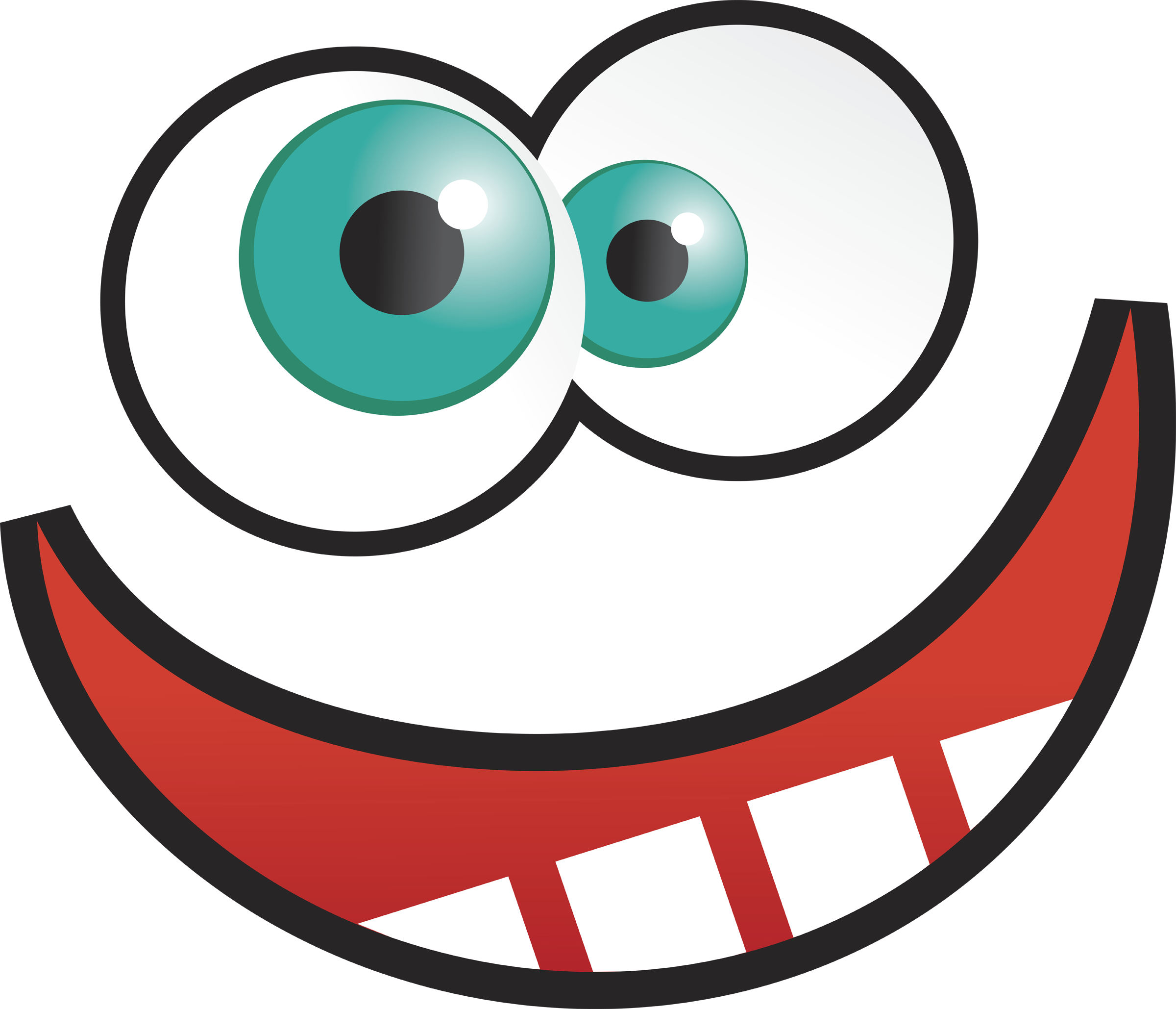 Crazy Cartoon Eyes - ClipArt Best