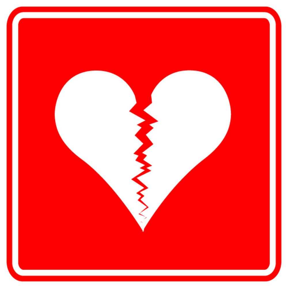 cartoon broken heart photos clipart best