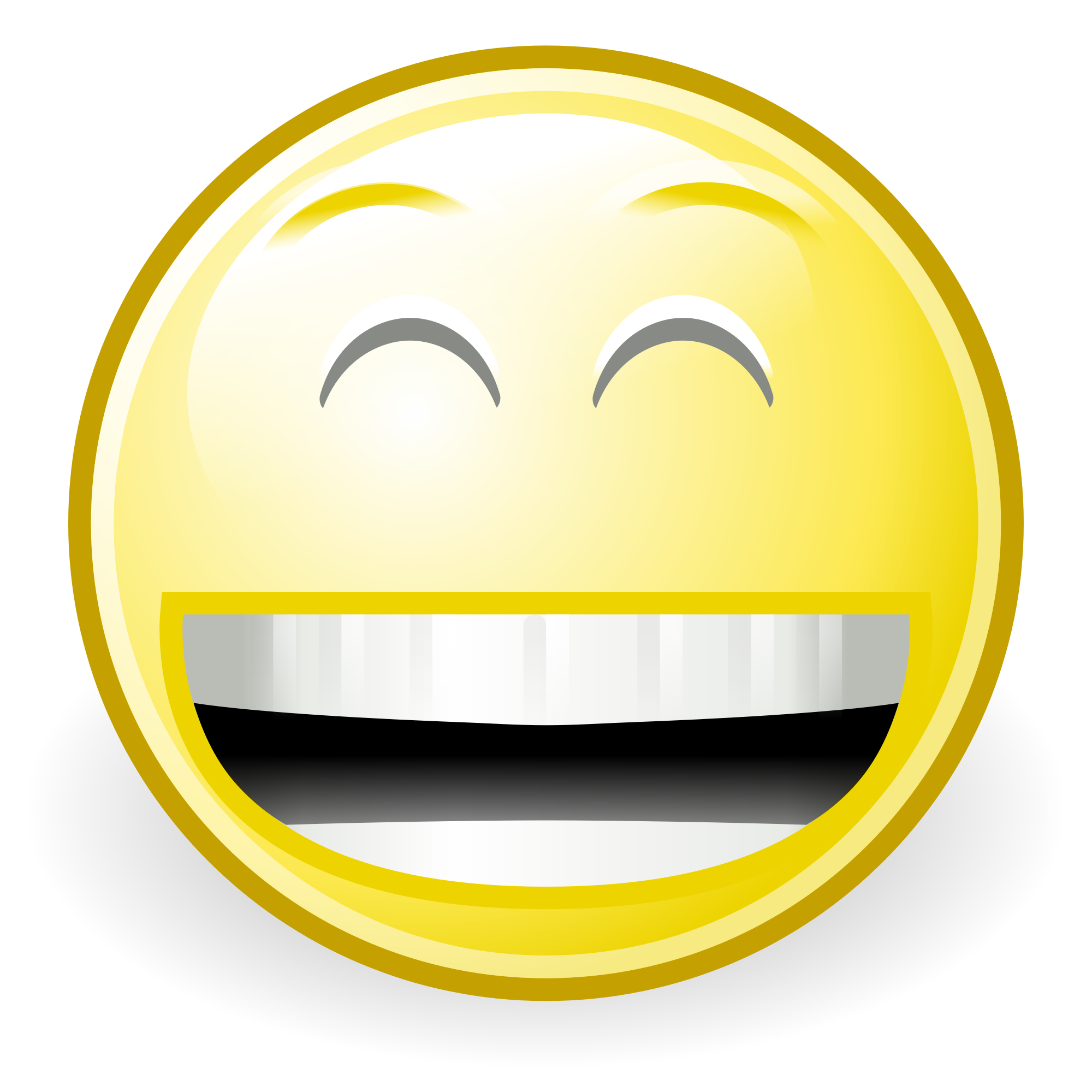 Funny Laughing Face Cartoon - ClipArt - 409.6KB