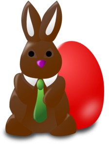 Chocolate Bunny Clipart - ClipArt Best
