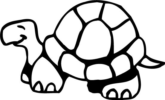 Turtle  Coloring pages Drawing for Kids Free Online