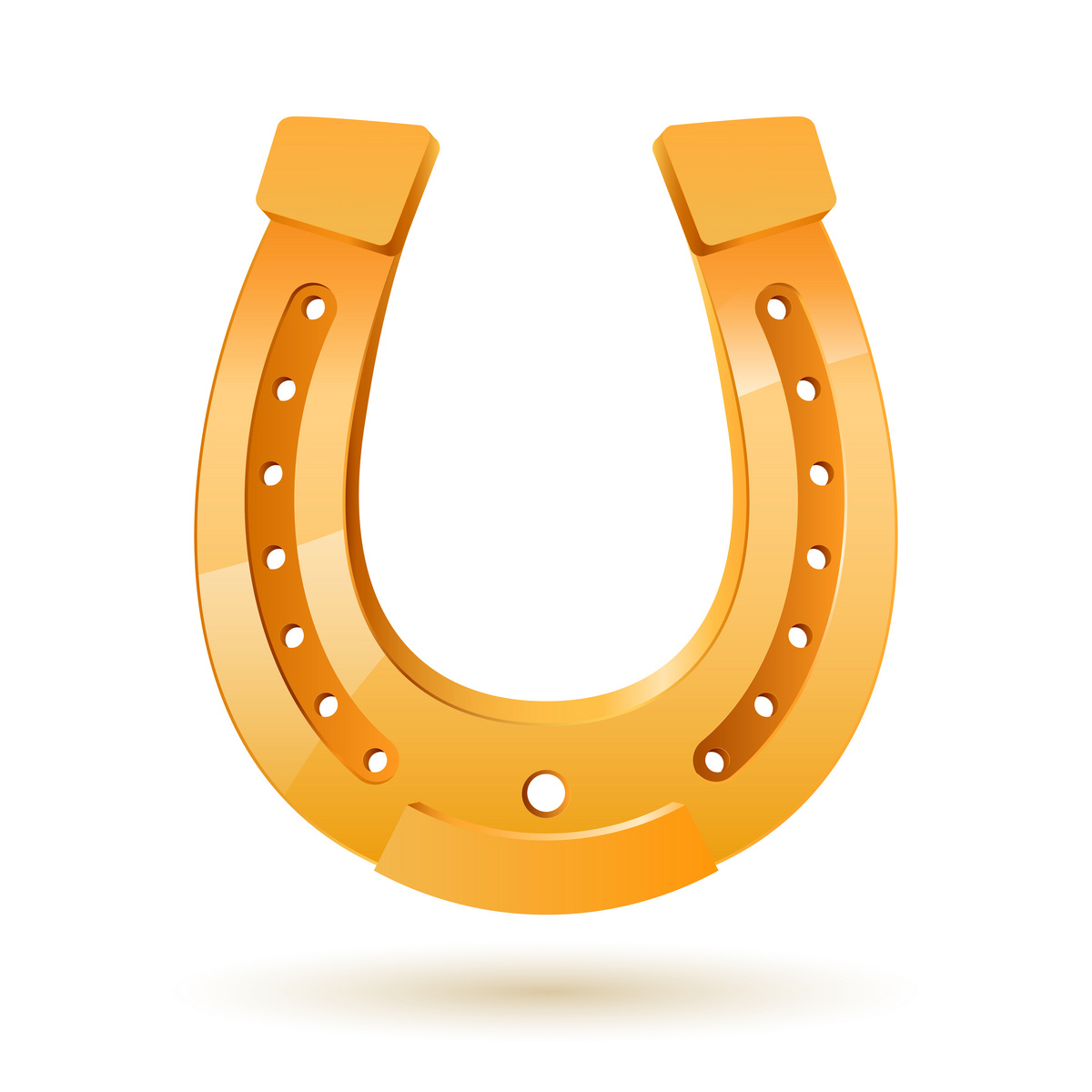 horseshoe template clipart best Horseshoe Clip Art Black and White Horse and Horseshoe Clip Art