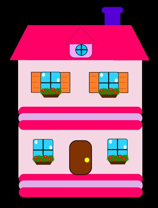 cartoon clipart of houses - photo #41