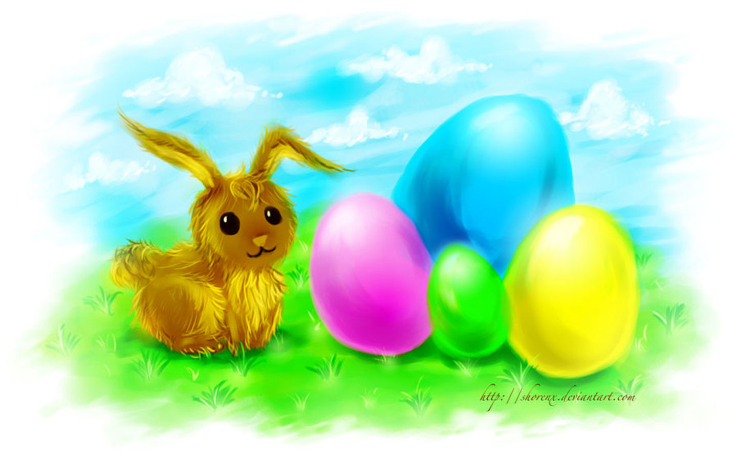 Collection Easter Bunny Eggs Pictures - The Miracle of Easter