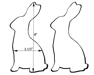 Easter Bunny Template | Happy Easter Day 2014