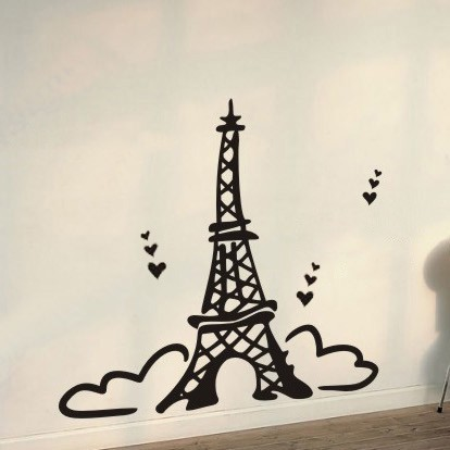 I Love Paris Wallpaper cartoon : Paris Eiffel cartoon - clipArt Best