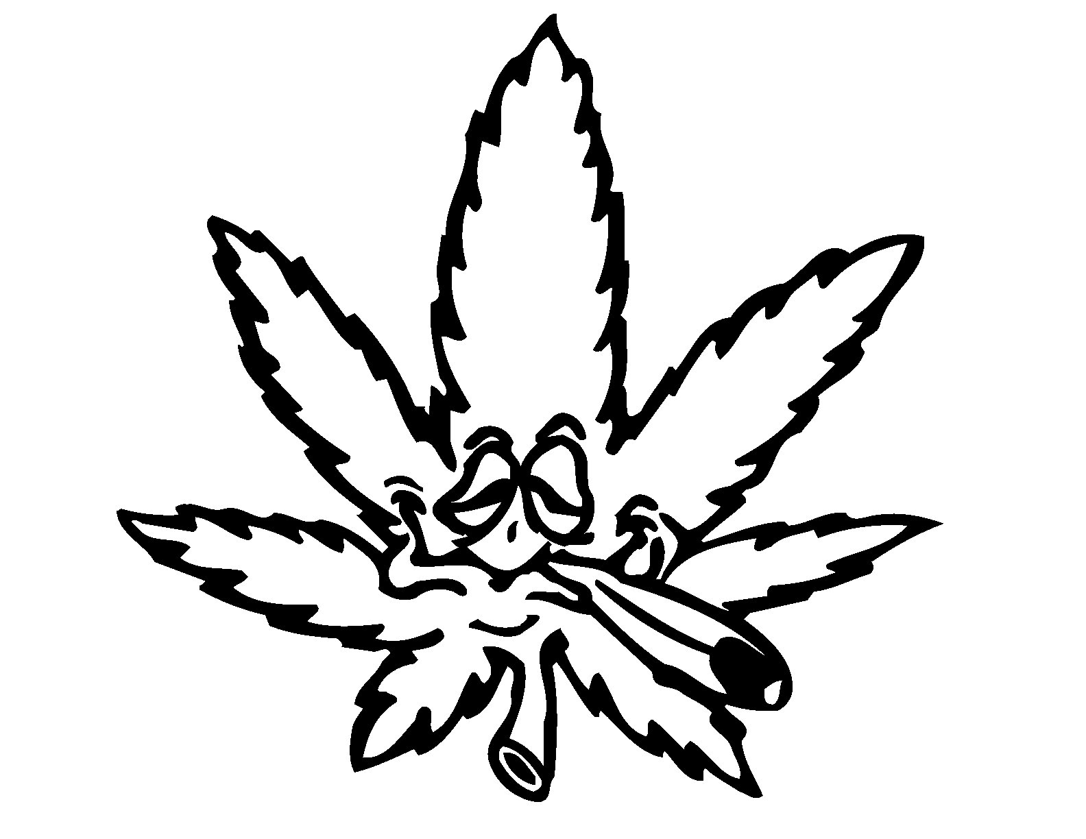 Drawings Of Weed - ClipArt Best